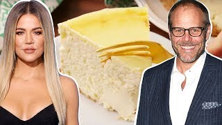 Khloé Kardashian Vs. Alton Brown: Whose Cheesecake Is The BEST? | Celebrity Snackdown | Delish