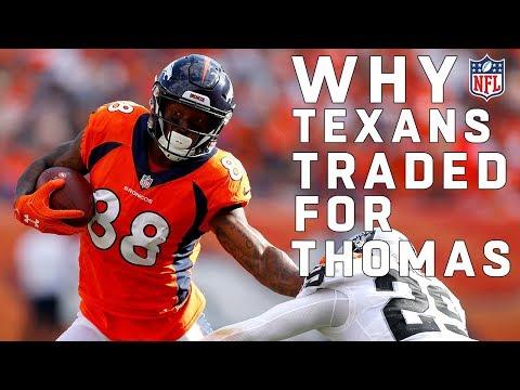 Texans Trade for Demaryius Thomas! | 🚨 TRADE ALERT 🚨