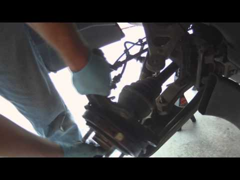 Chevrolet Corvette C6 Rear Wheel Bearing Replacement - Axle Shaft