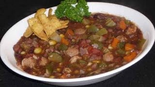 Vegetarian Chili Recipe, A Super Bowl Delight