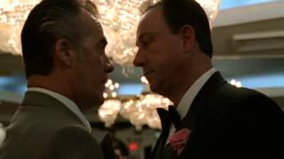 Tony And Capos Find Out For Federal Charges - The Sopranos HD