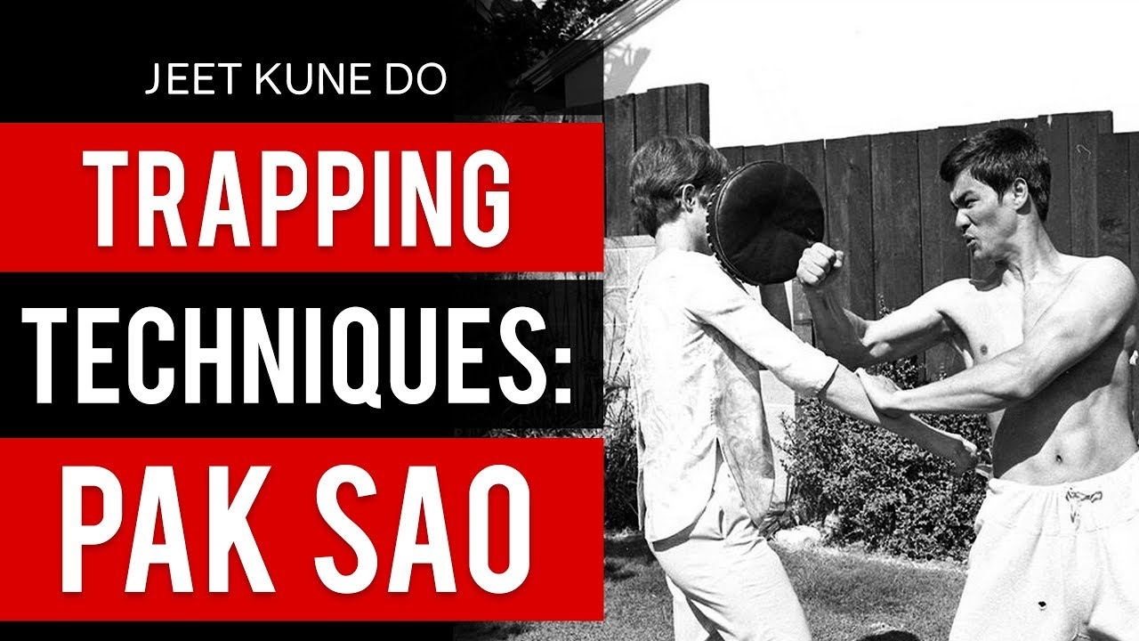 bruce lees jeet kune do trapping techniques pak sao