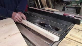 Craftsman moldings head cutter and how I was taught to use them by Bob's woodshop