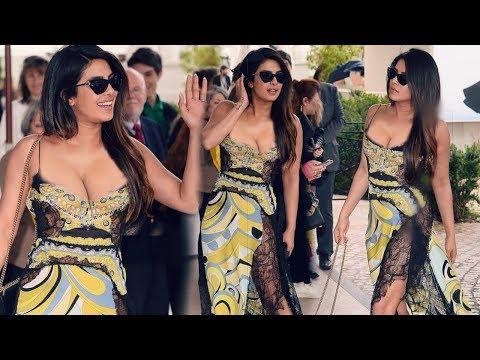 Priyanka Chopra Looking Beautiful at Cannes 2019 Day 4 | Red Carpet Video With Nick Jonas