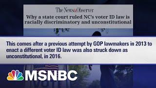 Judges Block N.C. GOP Voter ID Law As Discriminatory