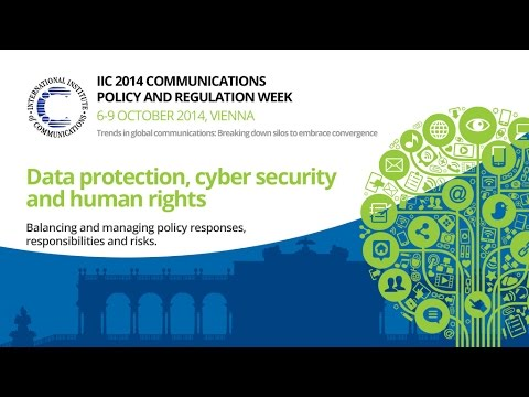 Data protection, cyber security, human rights-balancing, managing responsibilities & risks