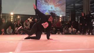 Break Mission 2019 - Bgirl Eddie vs Lexleia - Top 8 Bgirl Battle