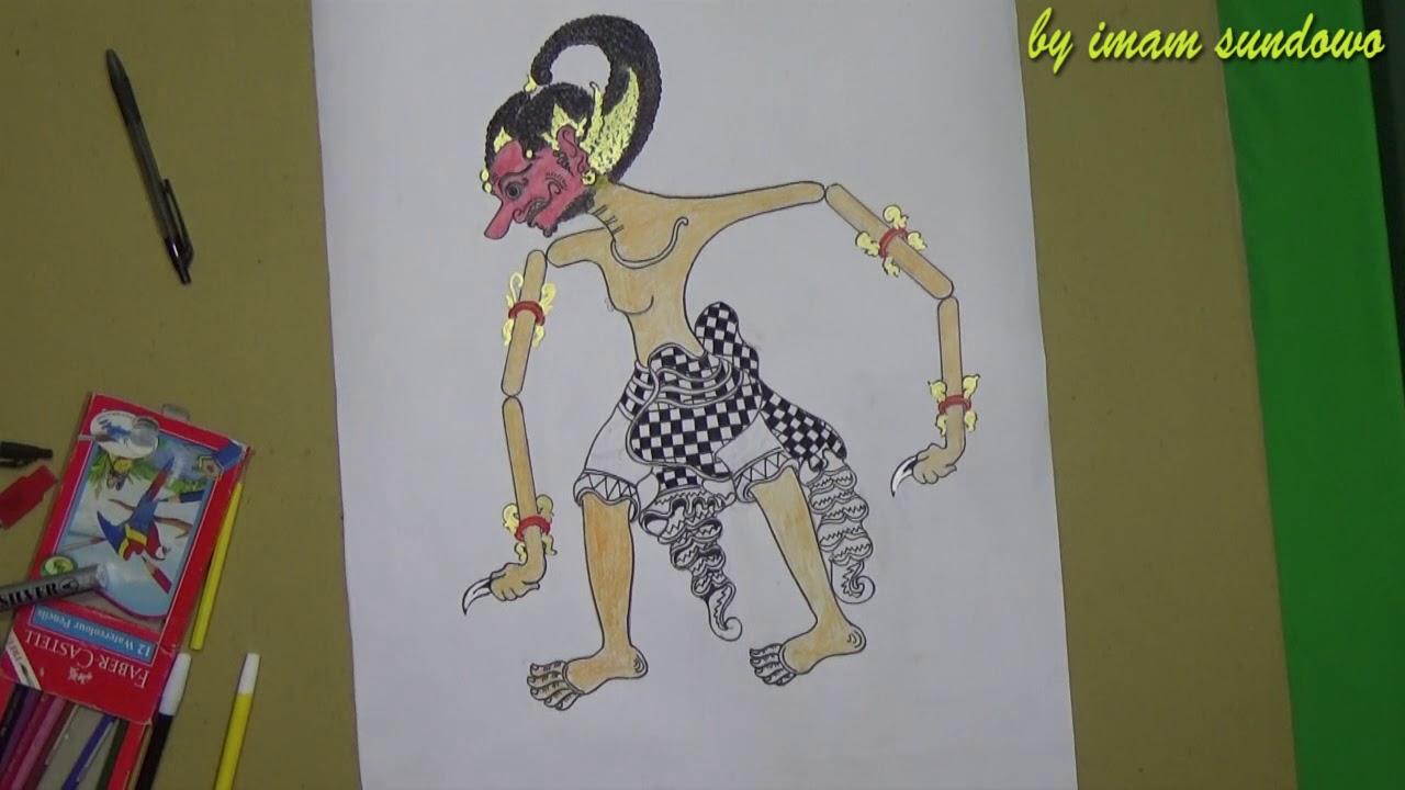Cara Membuat Wayang Arjuna Dari Kardus Ki Dalang Rohmad Hadiwijoyo