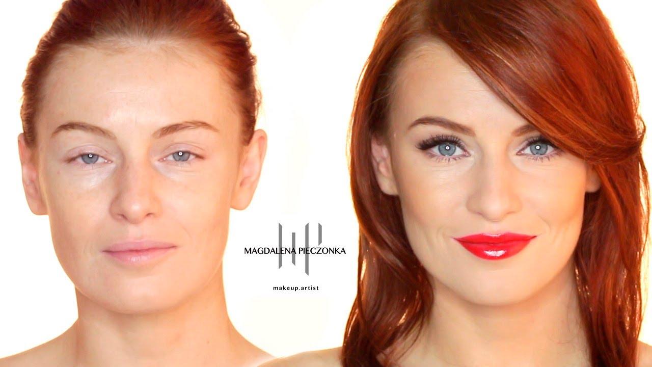 Jak Zrobić Makijaż W Stylu Gwiazd Czerwone Usta Youtube