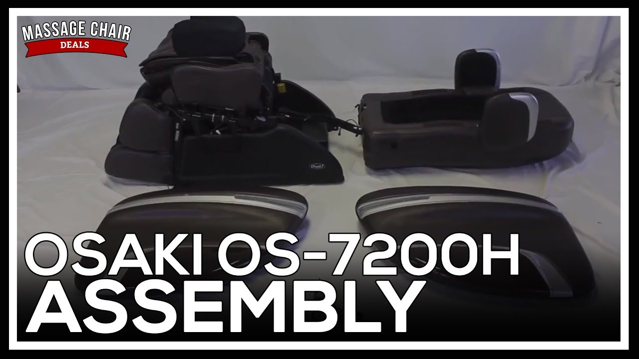 Osaki OS 7200H Massage Chair Assembly Instructions