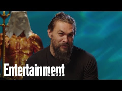 How Jason Momoa's Kids Ended Up In 'Aquaman' | Entertainment Weekly