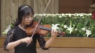 [예배특송-연주] 십자가의 전달자 - 바이올린.박은혜 2016-08-05 [연세중앙교회 윤석전 목사]