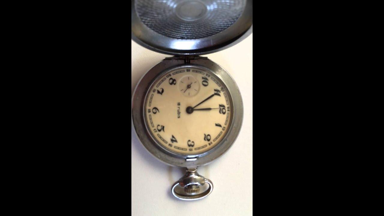 DOXA. Карманные часы от www.antiqueshop.ru - YouTube