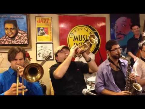 Smoking Time Jazz Club Live Louisiana Music Factory New Orleans Jazzfest 2015