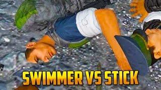 Swim Glitcher vs Sharpened Stick - DayZ Standalone