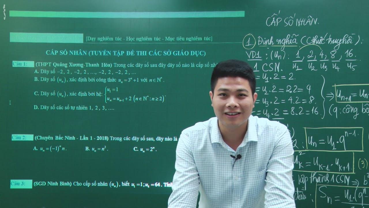 Cấp số nhân – Toán 11 – Giáo viên : Nguyễn Văn Đức