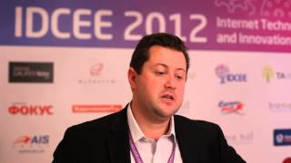 IDCEE 2012: Official Interview with Igor Taber (Head in CIS Countries @Intel Capital)