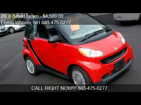 2008 Smart Fortwo For In Hampstead Nh 03841 At The Fly Flying Wheels