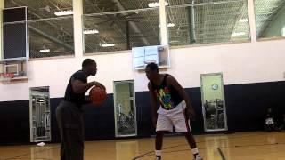 ahat hoops daine vs yung gicasso one on one basketball