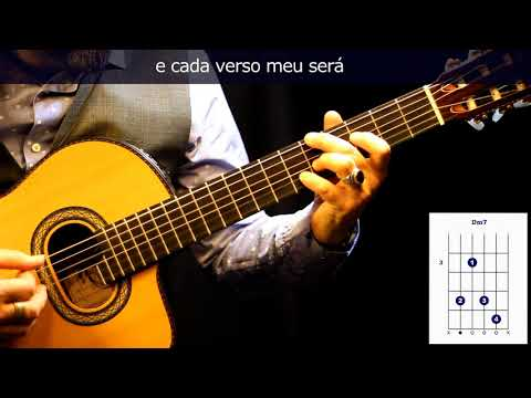 "Cómo tocar/how to play bossanova ""Eu sei que vou te amar"" on guitar"