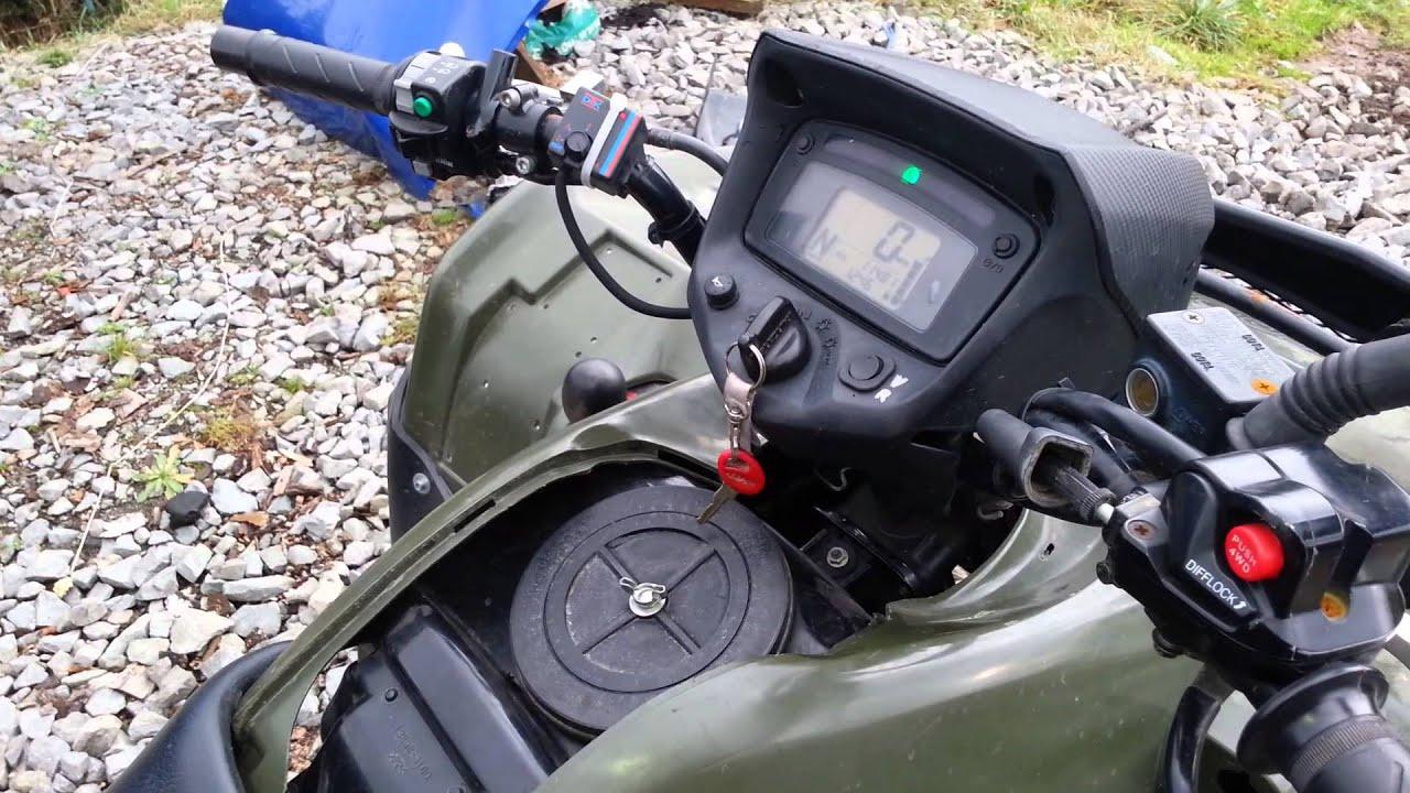 Problem with idle - Suzuki Kingquad 700