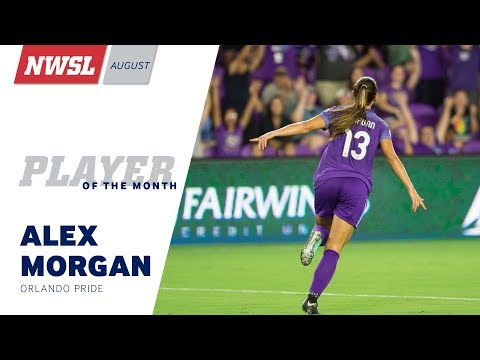 premium selection b5b7a 9ad7d NWSL August Player of the Month: Alex Morgan, Orlando Pride ...