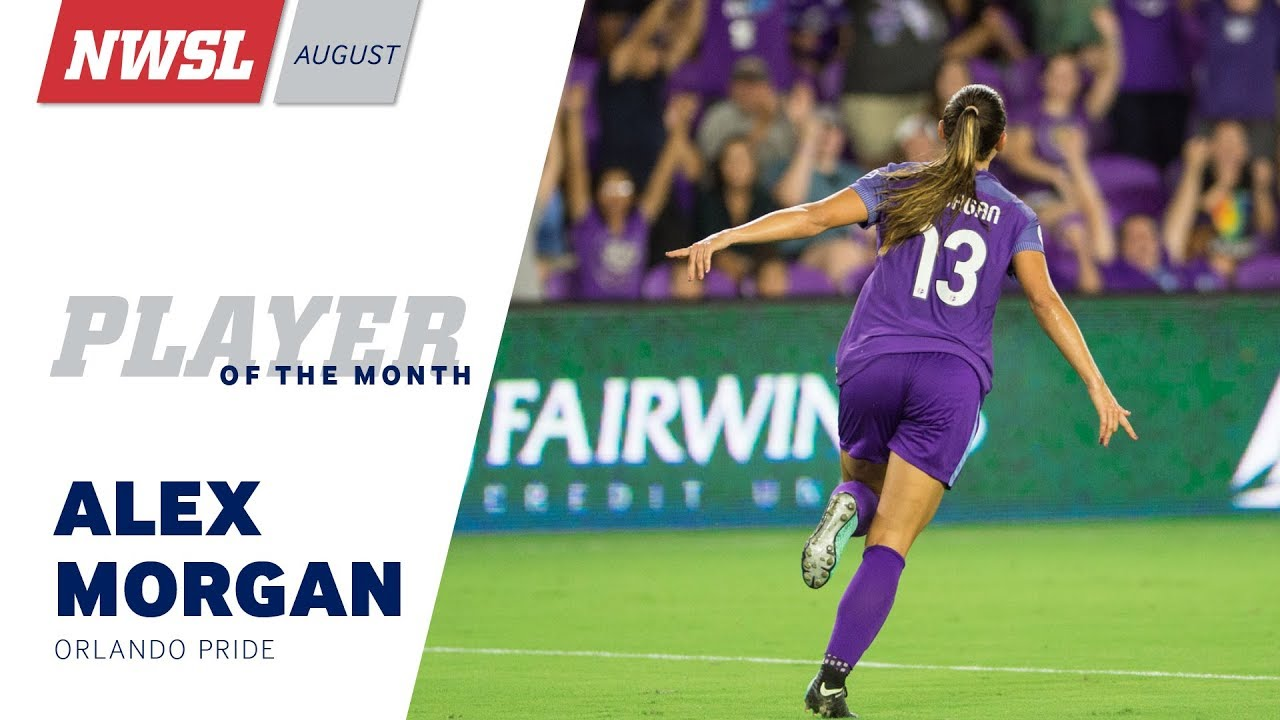 7144887da4f NWSL August Player of the Month  Alex Morgan