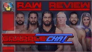 ☀WORST RAW?! WWE RAW REVIEW AUGUST 6th 2018 Recap & Results GRAPPLECHAT