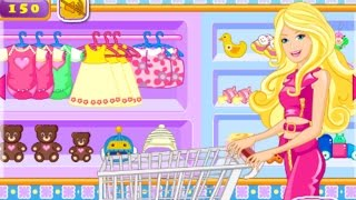 Barbie games to play - Mommy Barbie Go Shopping - best barbie dressup game for kids