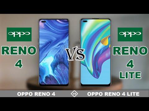 OPPO RENO 4 vs OPPO RENO 4 LITE | Full Specs Comparison