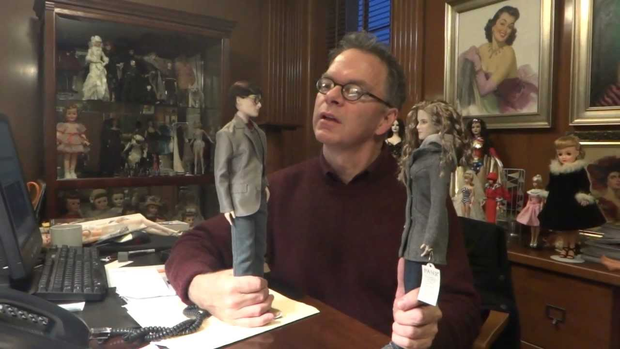 robert shares harry and hermione deathly hallows tonner doll company youtube. Black Bedroom Furniture Sets. Home Design Ideas