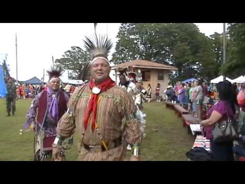 delaware powwow copan oklahoma 2013 grand entry friday