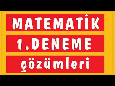Tyt 10'lu Deneme-1 çözüm (emrah Hoca) Şenol Hoca Matematik