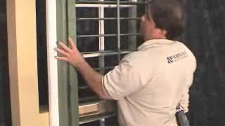 Woodlore Shutters French Door Cutout Installation