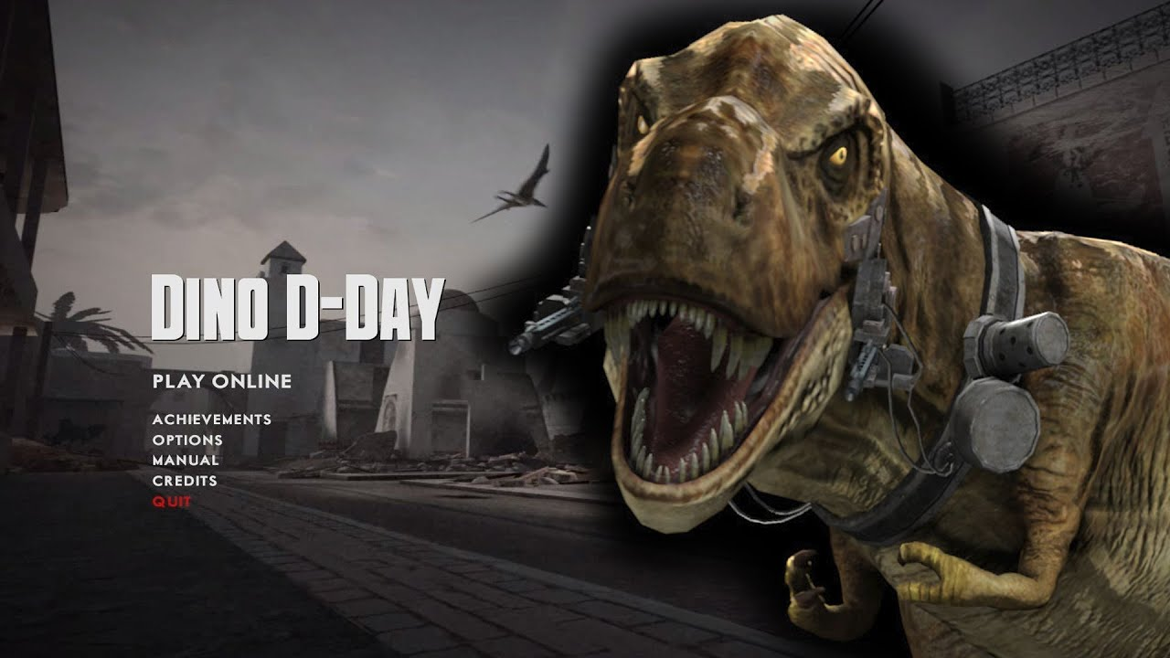 Dino D-Day the Comic Issue 1