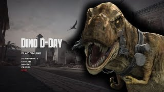 Dino D-Day Multiplayer Gameplay - Tyrannosaur Trouble!