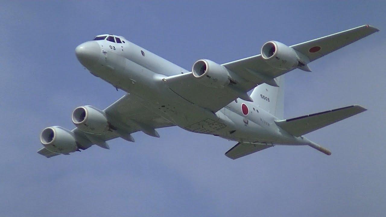 ✈P3C & P-1 海上自衛隊下総航空...