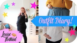 Curvy Maternity Outfit Diary!