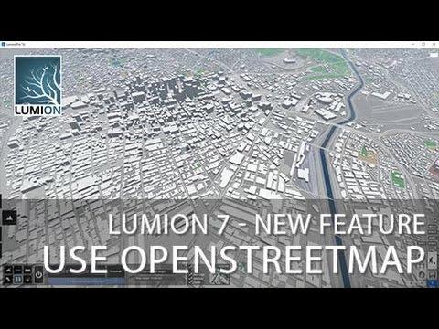 Lumion 7 Transparancy - Use OpenStreetMap