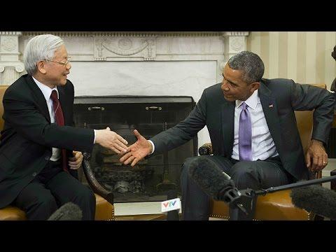 Toàn văn họp báo giữa ông Trọng với ông Obama