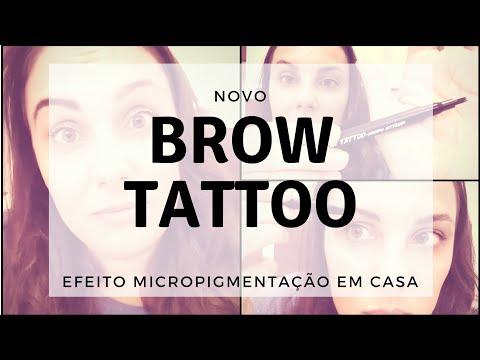 Brow Tatto delineador de sobrancelhas Mark Avon