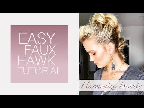 Easy faux hawk tutorial