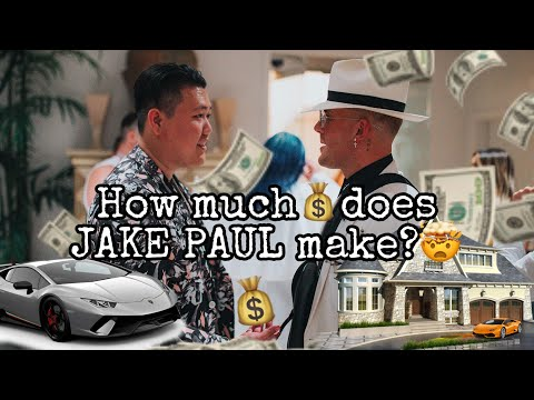 How much money does JAKE PAUL make? (INTERVIEW)