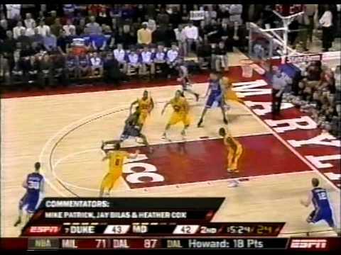 Gerald Henderson dunk vs Maryland
