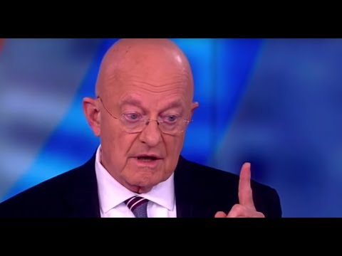 Former Director of National Intelligence James Clapper On Distrust Of Intelligence Agencies