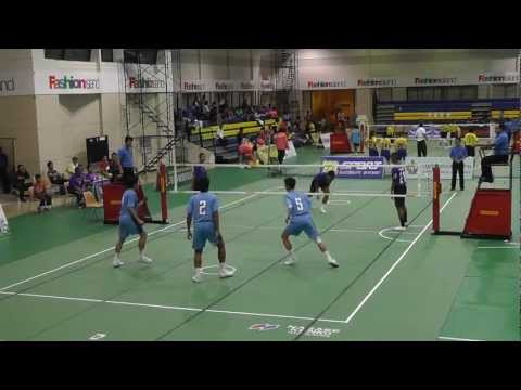 Sepak Takraw Princess Cup 2012 – Port Authority of Thailand vs. Royal Thai Navy