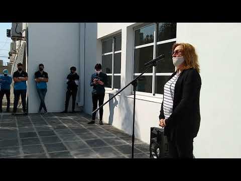 Nepotte: Inauguraron el S.U.M. de la Escuela Técnica