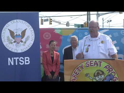 NTSB Vice Chairman Dinh-Zarr Briefs Media on transportation safety for school age children
