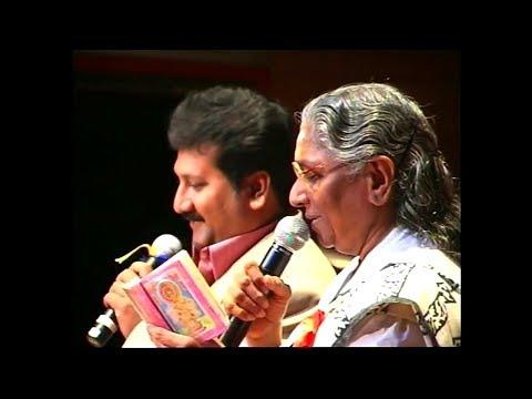 Inji Idupazhagi - Live | Mano & S Janaki