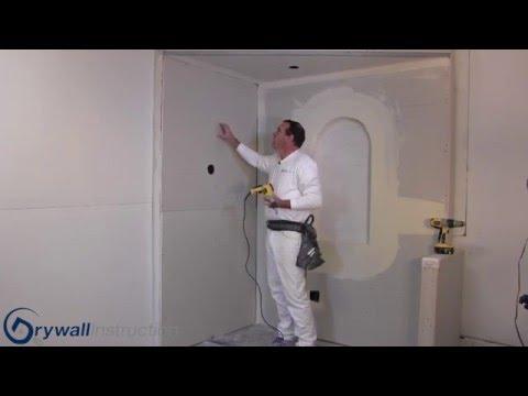 Drywall Fasteners  -  Nails vs  Screws -  Drywall Instruction